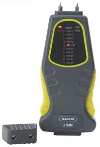 General Tools MM1E Analog Moisture Meter L.E.D. Display