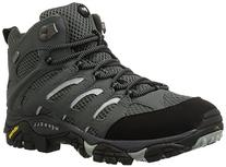 Merrell Men's Moab Mid Waterproof Hiking Boot, Sedona Sage,