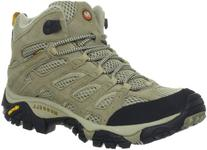 Merrell Women's Moab Ventilator Mid Hiking Boot,Taupe,9 M US