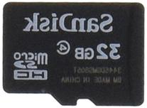 SanDisk 32GB Mobile MicroSDHC Class 4 Flash Memory Card With