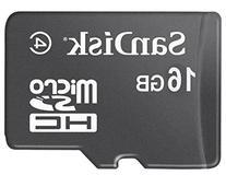 SanDisk 16GB Mobile MicroSDHC Class 4 Flash Memory Card-