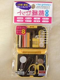 Mobile Sewing Kit Plasitc Case Color May Vary
