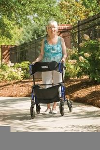 MOBILITY - HybridLX Rollator Transport Chair #LX1000B