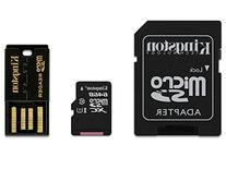 Kingston Digital 64GB Mobility Multi Kit Flash Memory Card