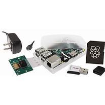 Raspberry Pi Model B+ 512MB Camera Kit w/8GB NOOBs and WiPi