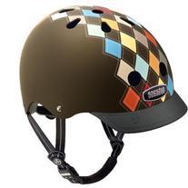 Nutcase Modern Argyle Matte Street Helmet, Medium