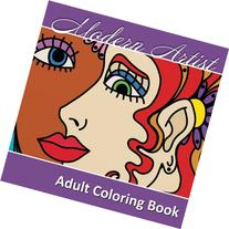 Modern Artist Adult Coloring Book