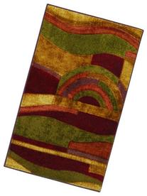 Mohawk Home New Wave Picasso Printed Rug,  3'9x5'8,  Wine