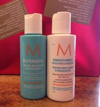 Moroccanoil Moisture Repair Shampoo & Conditioner Travel Set