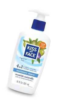 Kiss My Face Moisture Shave Fragrance Free - 11 Oz, 2 pack