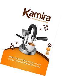 KAMIRA Moka Express 1/2 Cups Stovetop Espresso Maker, MADE