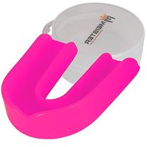 Moldable Single Mouthguard w/ Case - Pink