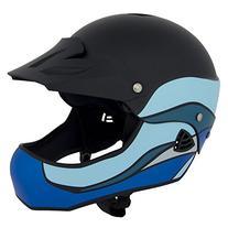 WRSI Moment Full Face Kayak Helmet-Black-S/M