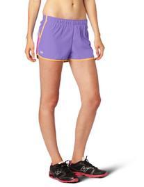 New Balance Women's Momentum Shorts, Black, Medium