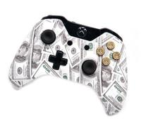 """Money 9mm"" Xbox One Rapid Fire Modded Controller 9 mm Real"
