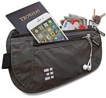 Zero Grid Money Belt w/RFID Blocking - Concealed Travel