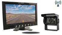 Tadibrothers 7 Inch Monitor with Wireless Mounted RV Backup