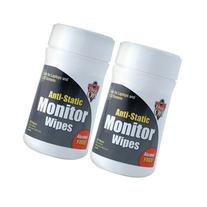 Falcon Monitor Wipes, 80 ct. 2 Pack Tubs