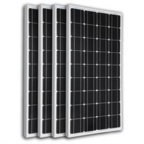 Renogy 4 Piece 100W Monocrystalline Photovoltaic PV Solar