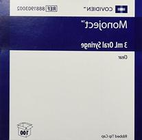 Kendall Monoject Oral Syr 3ml Clear - Box of 100 -