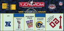 Monopoly St. Louis Rams Super Bowl XXXIV Edition
