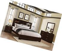 Montana Modern 4-Piece Wood Bedroom Set with Bed, Dresser,