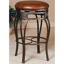 Hillsdale Montello 26 in. Backless Swivel Counter Stool -