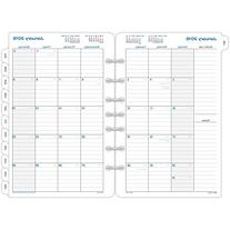 Day-Timer Monthly Refill 2016, 12 Months, Loose-Leaf, Desk