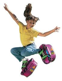 Big Time Toys Moon Shoes Purple