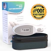 BEST Ear Thermometer Most ACCURATE Infrared Digital for Baby