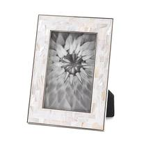 """Mother Of Pearl Mosaic Frame 4"""" X 6&#34"""