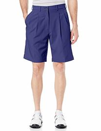 PGA TOUR Men's Motionflux Comfort Stretch Double Pleat Short