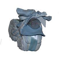 Baby Boy Motorcycle Diaper Cake