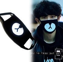 heartybay Motorcycle Face Masks Unisex Exo All Members Black