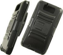 For Motorola DROID Ultra XT1080  Black Armor w/Stand Black