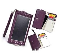 LG Volt LS740 compatible Clutch Case Clear Screen w/Strap,