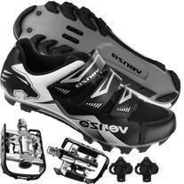 Venzo Mountain Bike Bicycle Cycling Shimano SPD Shoes +