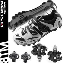 Venzo Mountain Bike Bicycle Cycling Shimano SPD Shoes +