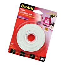 Scotch 4013 1/2-Inch by 150-Inch Mounting Tape