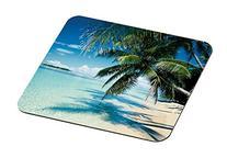 3M Foam Mouse Pad, Tropical Beach Design