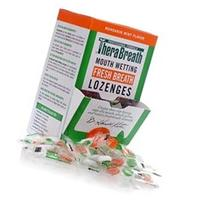 TheraBreath Mouth Wetting Fresh Breath Lozenges  Pieces