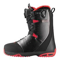 Salomon Moxie Womens Snowboard Boots 4.0 Black-Bright Red-