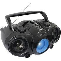 NAXA Electronics MP3/CD Boombox with Bluetooth