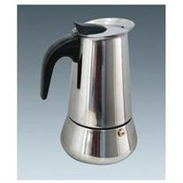 Ovente MPE04 4-cup Stovetop Stainless Steel Espresso Maker,