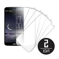 LG G Flex Screen Protector Cover, MPERO Collection 5 Pack of