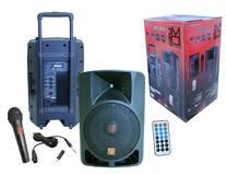 Mr. Dj PLED-4000 2-Way 15-Inch Portable Active Speaker with