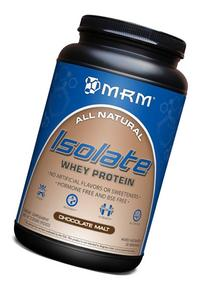 MRM 100% All Natural Isolate Whey Protein, Hormone and BSE