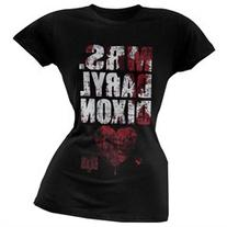 Walking Dead - Mrs. Daryl Dixon Juniors T-Shirt - S
