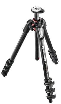 Manfrotto MT055CXPRO4 055 Carbon Fiber 4-Section Tripod with