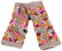 Nirvanna Designs MT13F ML Multi Color Flower Crochet Hand